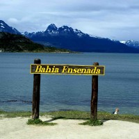 Baie Ensenada Ushuaia Parc National Terre De Feu