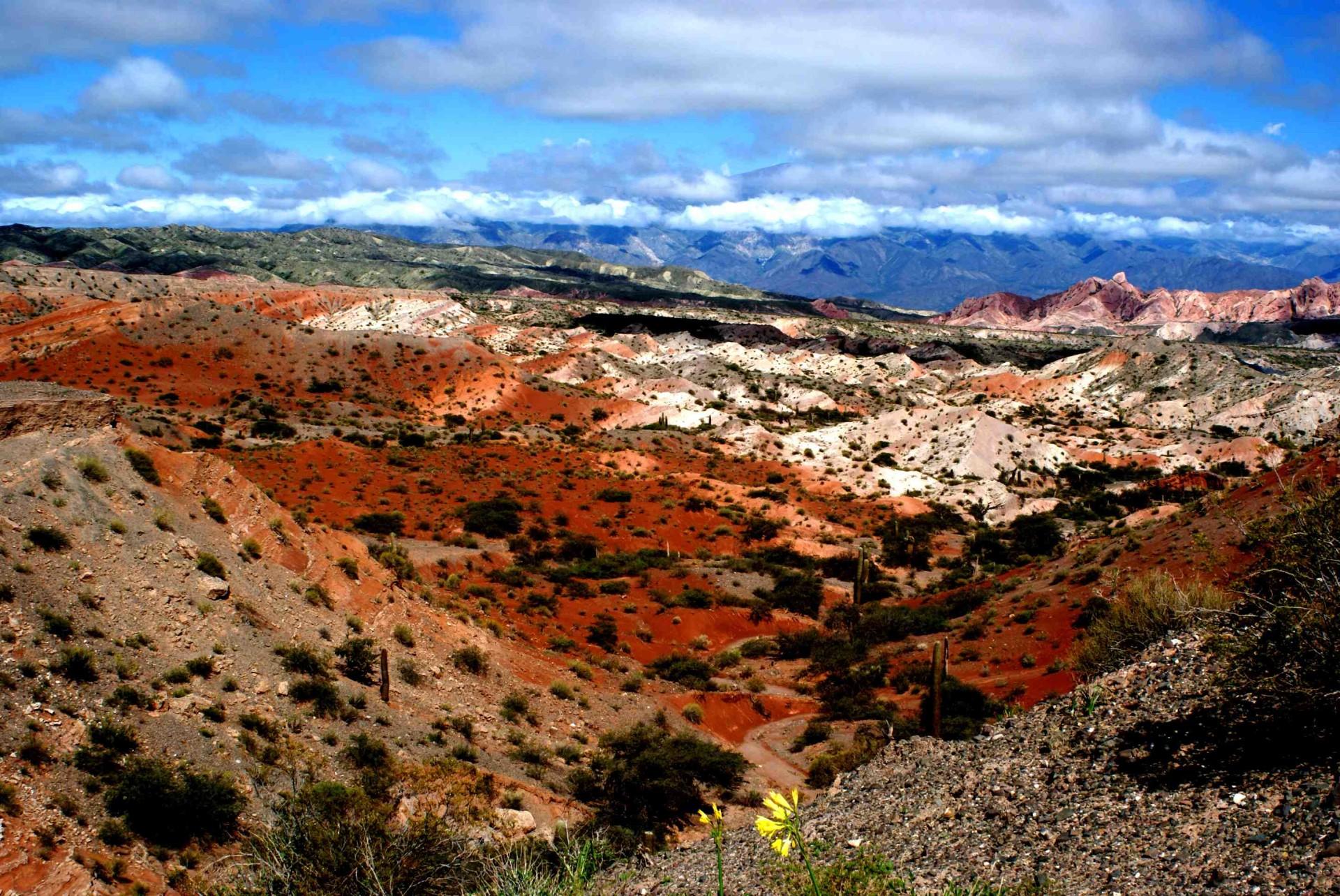 Paysages Colorés Du Nord De L'argentine