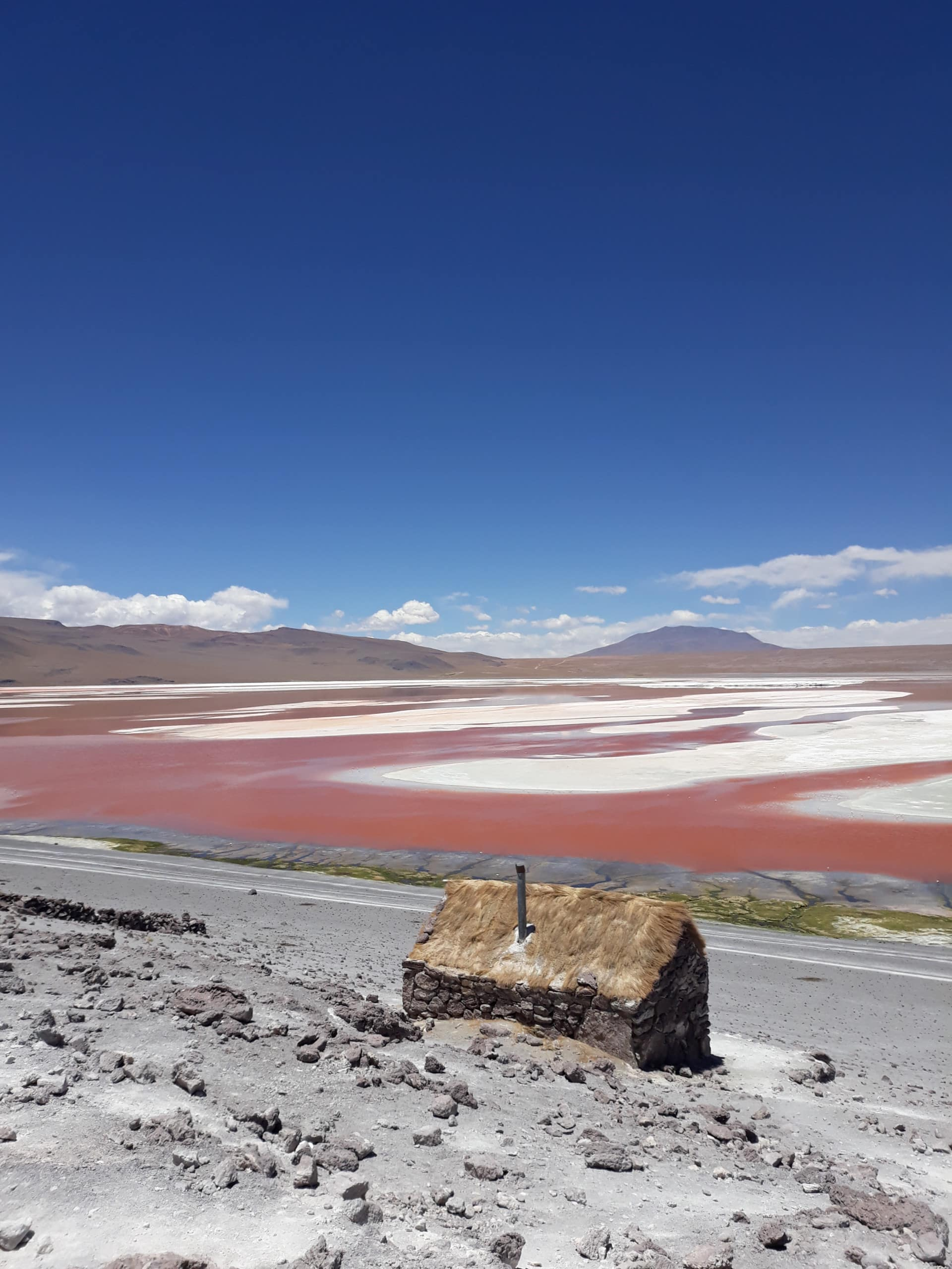 La Laguna Colorada, Bolivie Photo : Espaces Andins