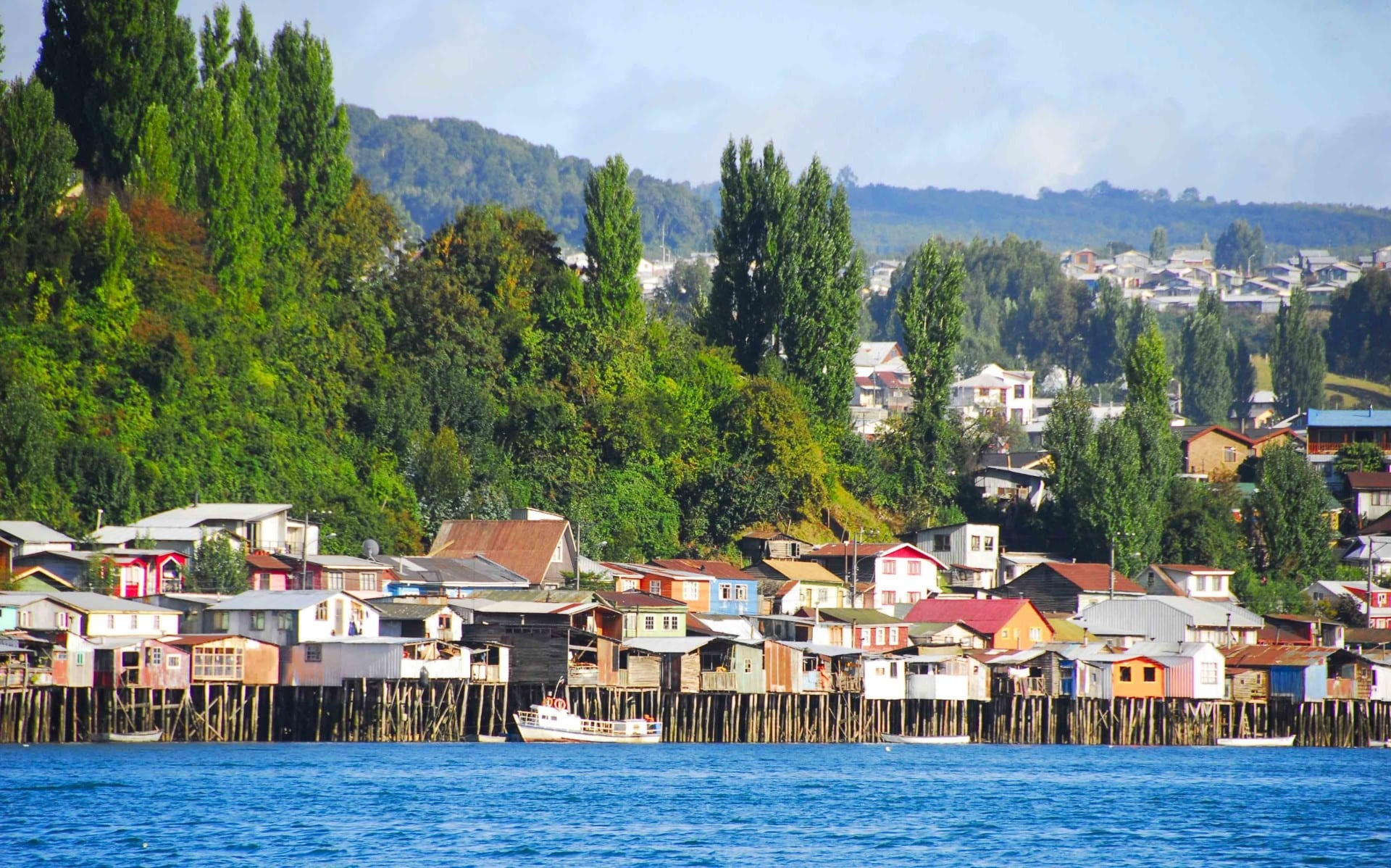 Castro Ile De Chilo Patagonie Chilienne