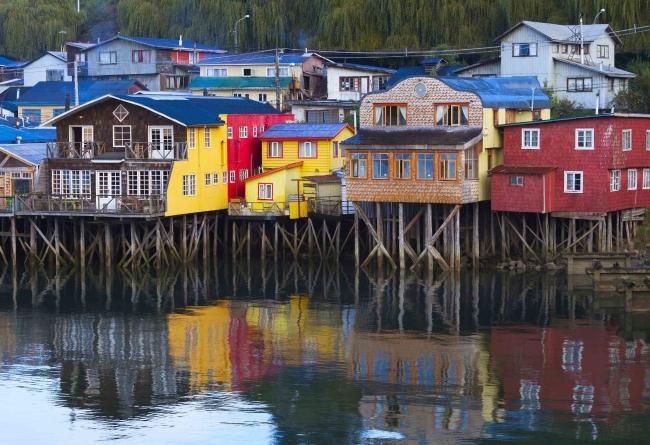 L'ile De Chiloe Chili