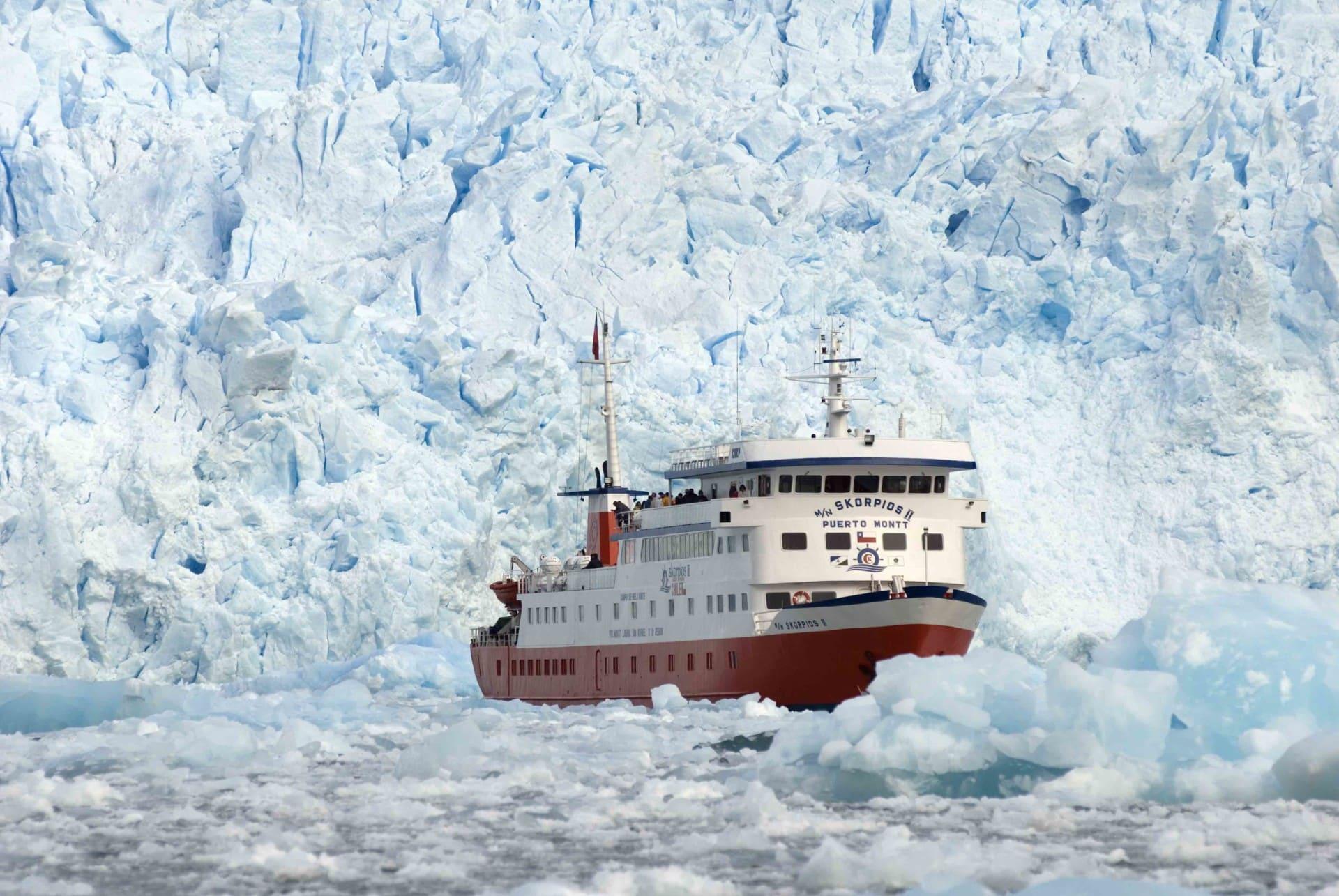 Glacier San Rafael Patagonie Chilienne