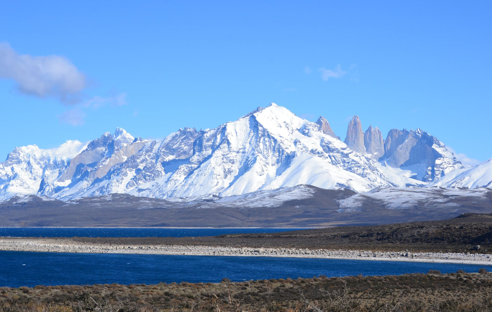 Le Parc National Torres Del Paine Au Chili