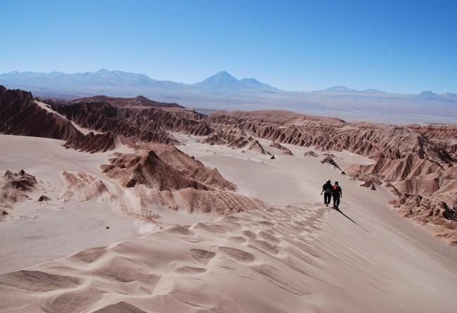 La Vallée De La Lune à San Pedro De Atacama Nord Du Chili