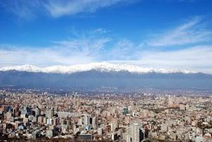 Jour 1 Chili Santiago
