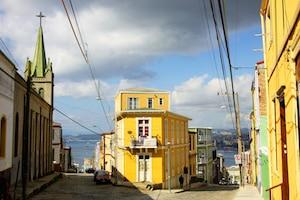 Jour 2 Valparaiso Cerro Conception