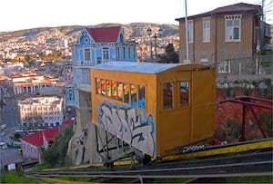 Jour 2 Valparaiso ascenseur