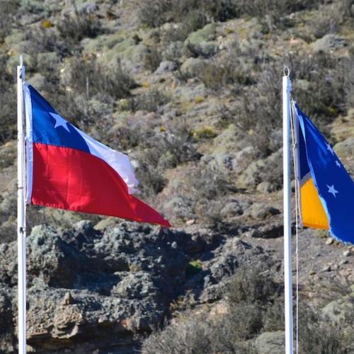 SLIDE 1 Drapeaux Chili Et Province Magellan