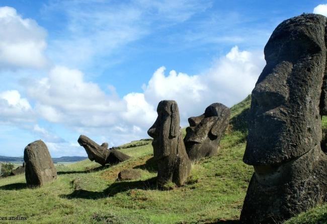 Mysteres Rapa Nui Moais