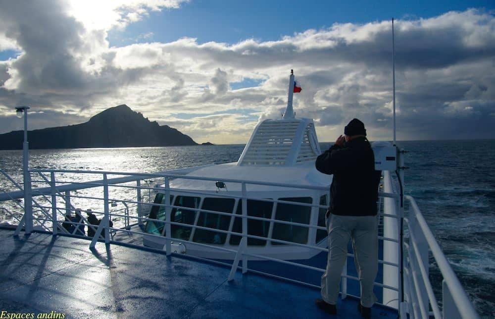 Croisière Australis à l'assaut du Cap Horn. Photo : Jean Pujo pour Espaces Andins