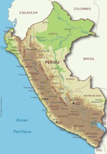 carte Perou