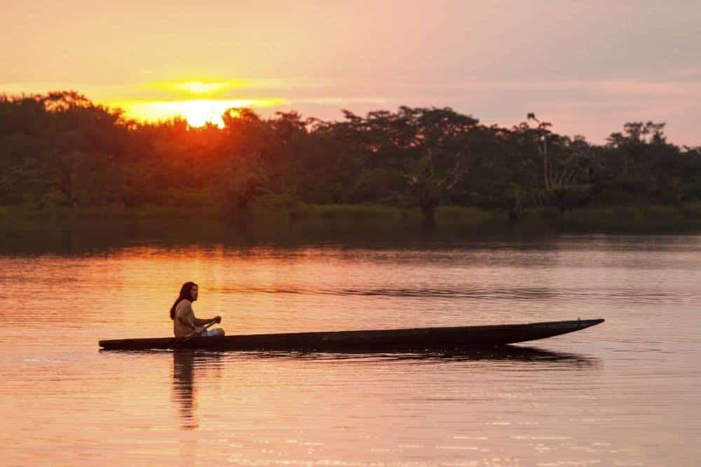 SLIDE 2 Pirogue Amazonie