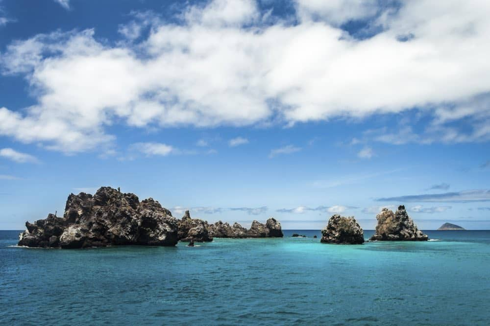 Devil's Crown Is Considered One Of The Best Places For Snorkeling In The Galapagos Islands. It Is Close To Floreana Island, Off The Coast Of Punta Cormorant,