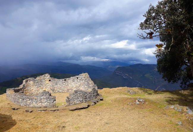 Le Site De Kuelap Près De Chachapoyas Nord Pérou