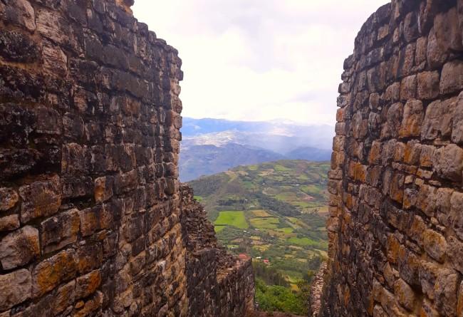 Photo Nord Du Perou Depuis La Citadelle De Kuelap