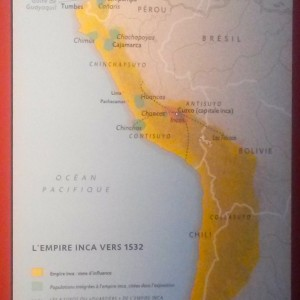 Carte Empire Inca