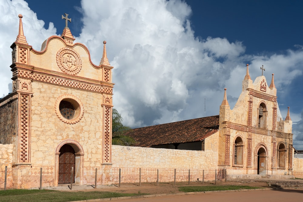Missão De San José De Chiquitos Fundada Em 1697 Na Província De Santa Cruz, Bolívia Março De 2009 Foto: Fernando Fernandes/Lunapress
