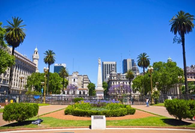 SLIDE 4  Buenos Aires Place De Mai