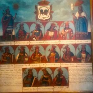 Genealogie Empereurs Incas