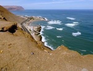 Arica, bord de mer