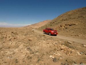Sur la route d'Iquique, Chili
