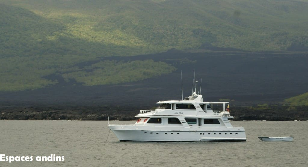 Navigation dans les Iles Galapagos