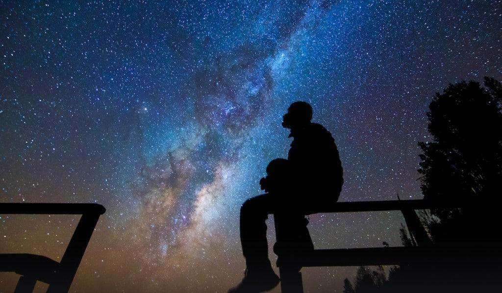 Ciel étoilé au Chili, désert Atacam