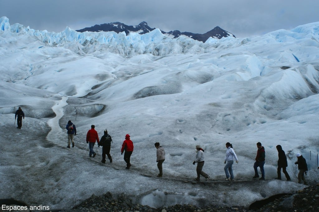 Départ de la marche sur le glacier  Photo : Espaces andins