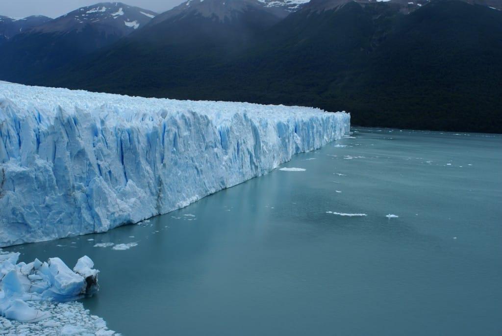 Le glacier Perito Moreno vu  de la passerelle Photo : Espaces andins