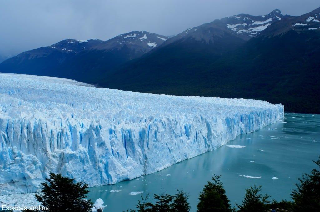 Autre vue sur le Perito Moreno des passerelles Photo : Espaces andins