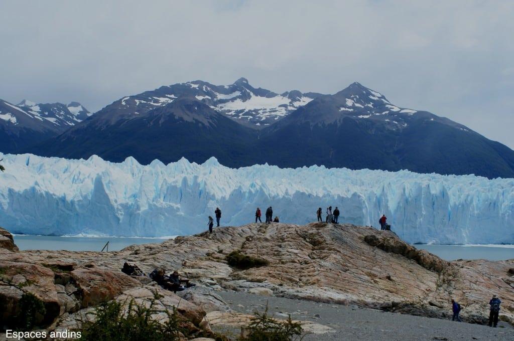 Vue sur le glacier Perito Moreno, Argentine Photo : Espaces andins