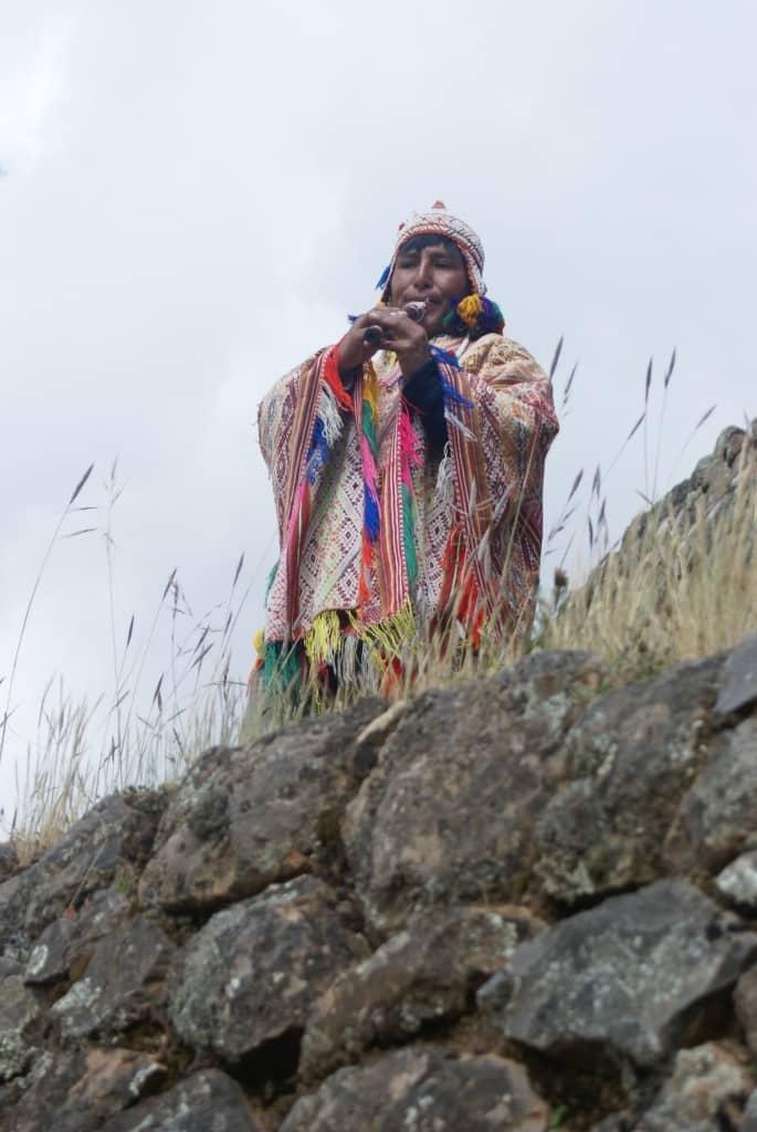 Peruvien dans la Vallée sacrée