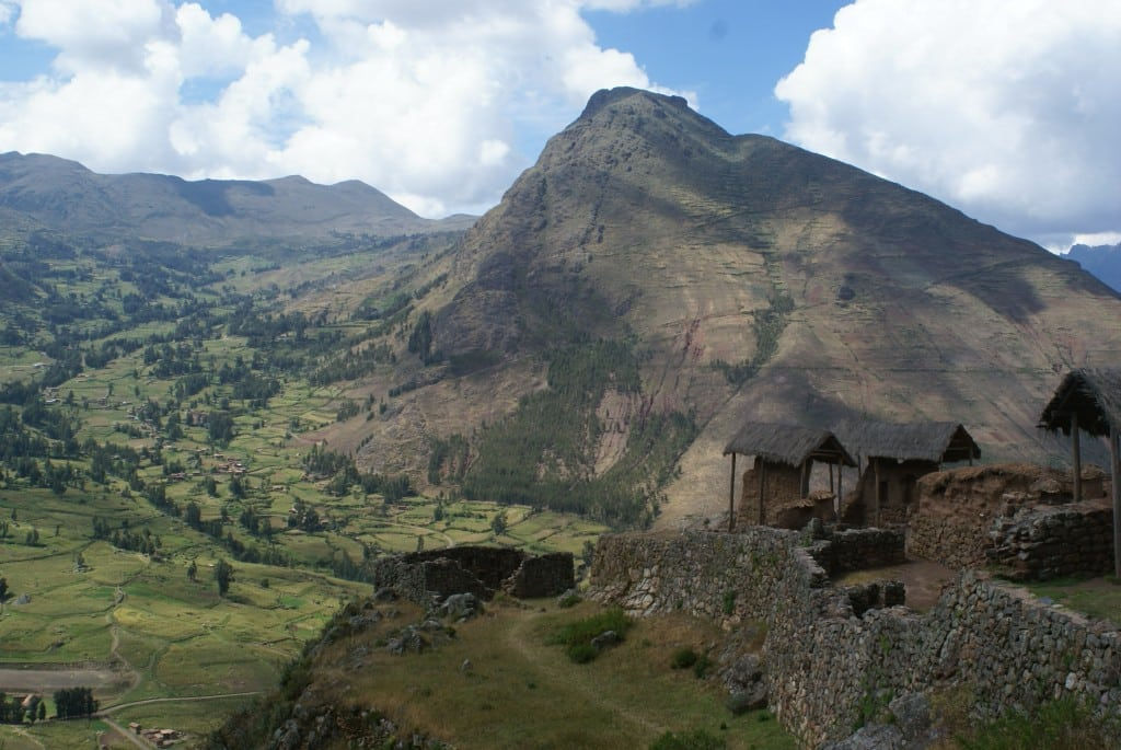 Pisac, vallée sacrée, au Pérou
