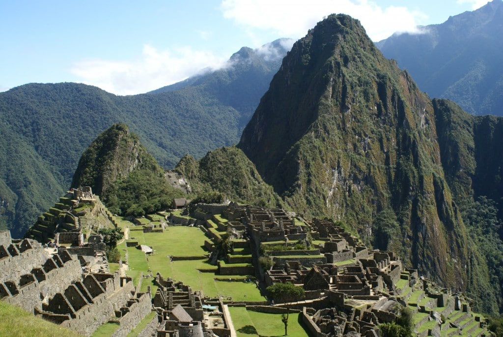Le Machu Picchu, au Pérou