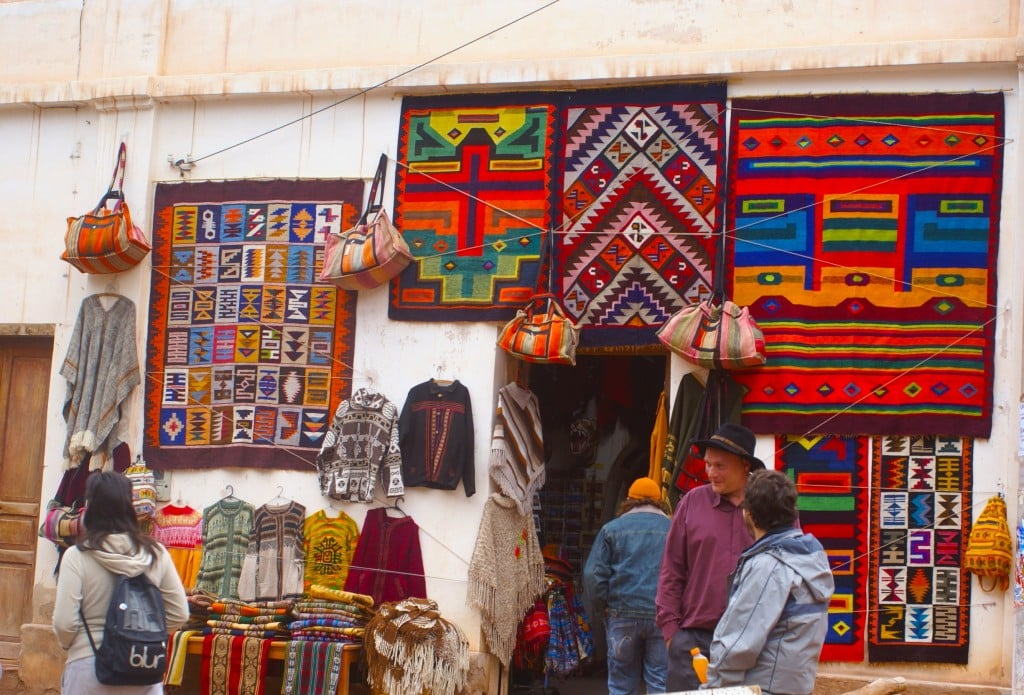 Artisanat local, Purmamarca, Argentine Photo : Espaces andins