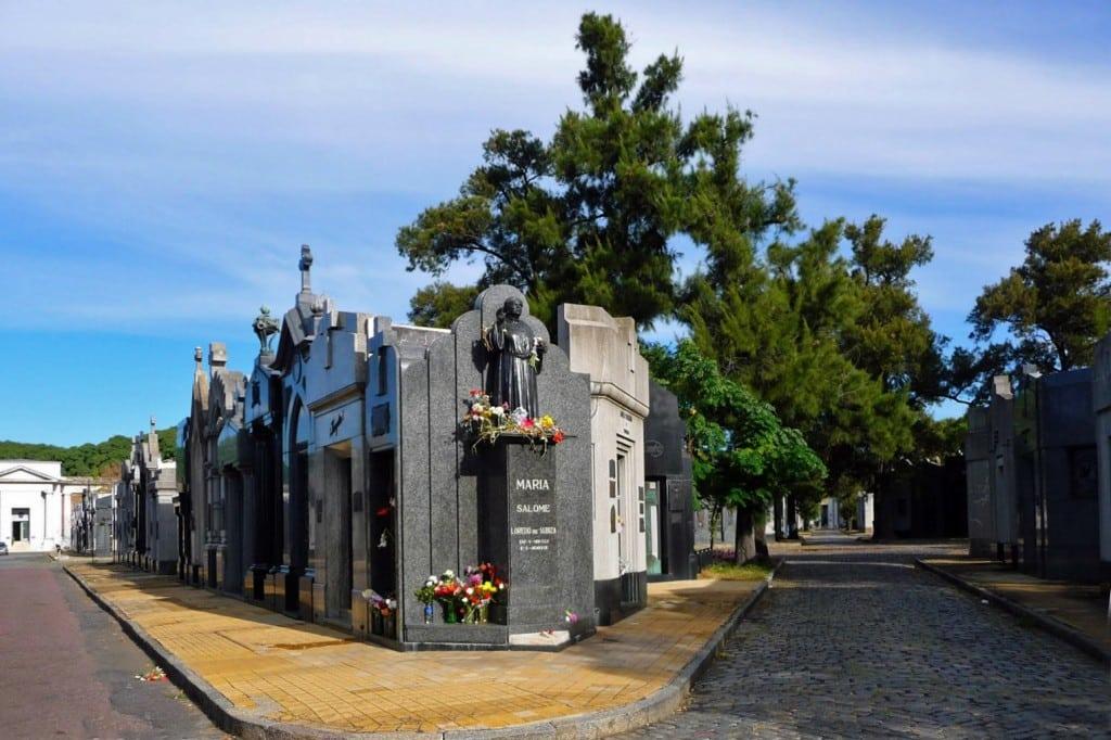 Cimetière de la Chacarita, à Buenos Aires, Argentine
