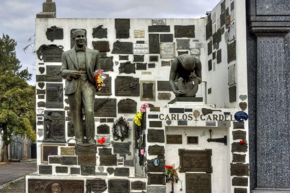 Carlos Gardel, cimetière de la Chacarita, Buenos Aires, Argentine