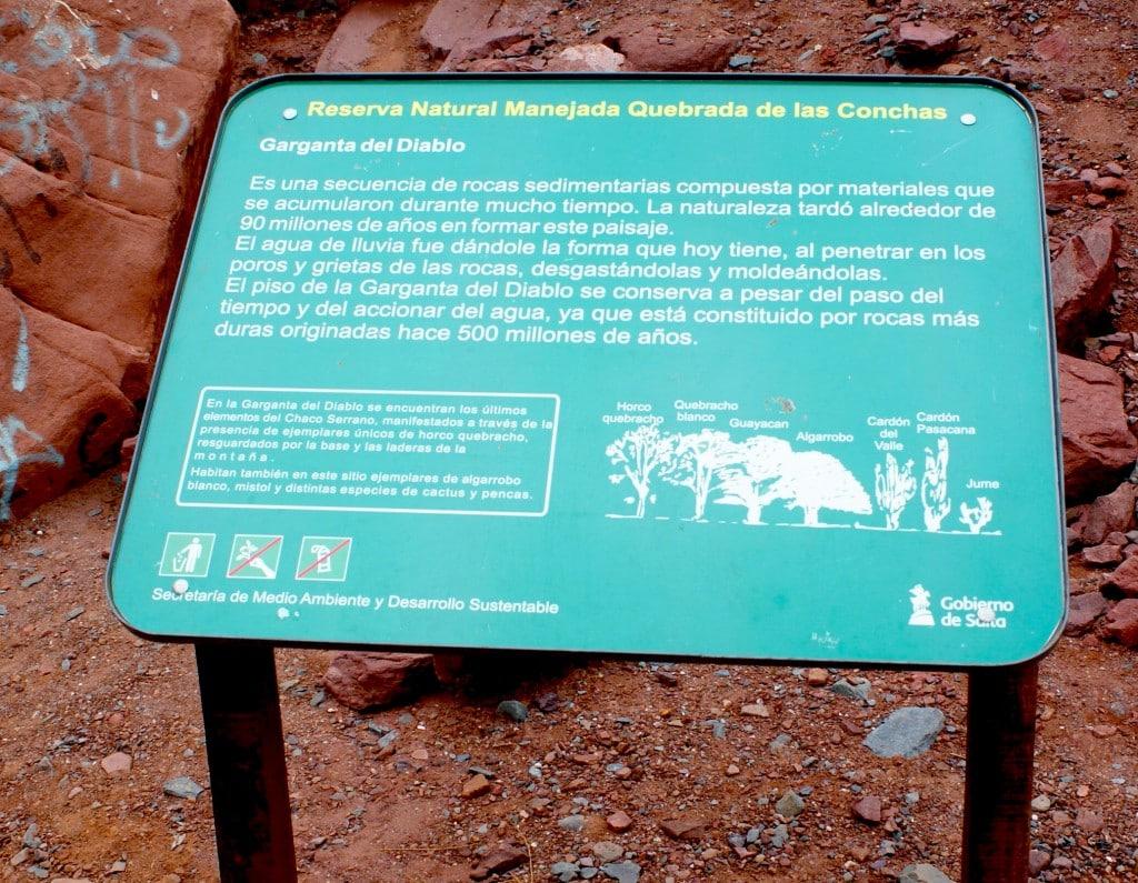 Garganta del Diablo, Argentine Photo : Espaces andins