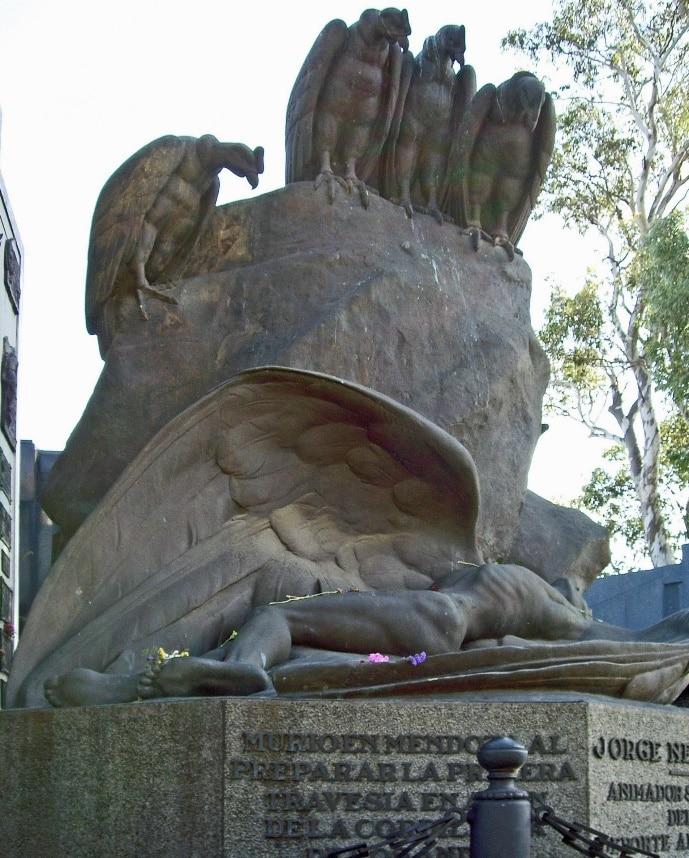 Jorge Newberry, cimetière de la Chacarita, Buenos Aires, Argentine