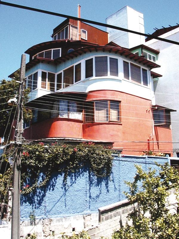 La maison de Pablo Neruda, La Sebastian, Valparaiso, Chili