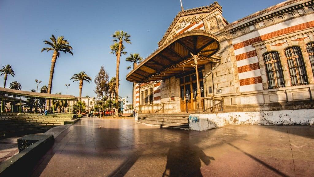 L'ancienne douane aujourd'hui Maison de la culture, à Arica