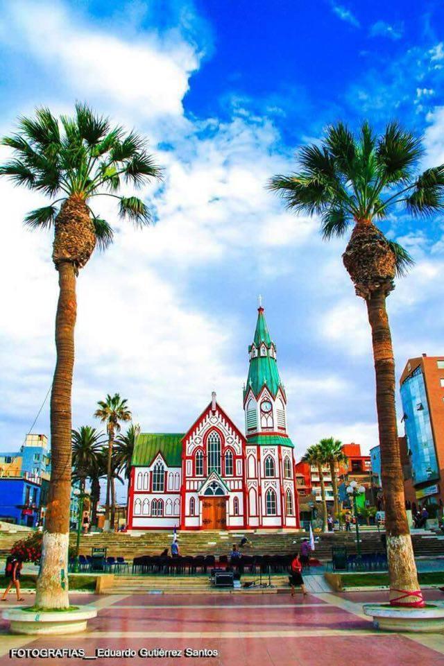 Cathedrale San Marcos, à Arica, Chili