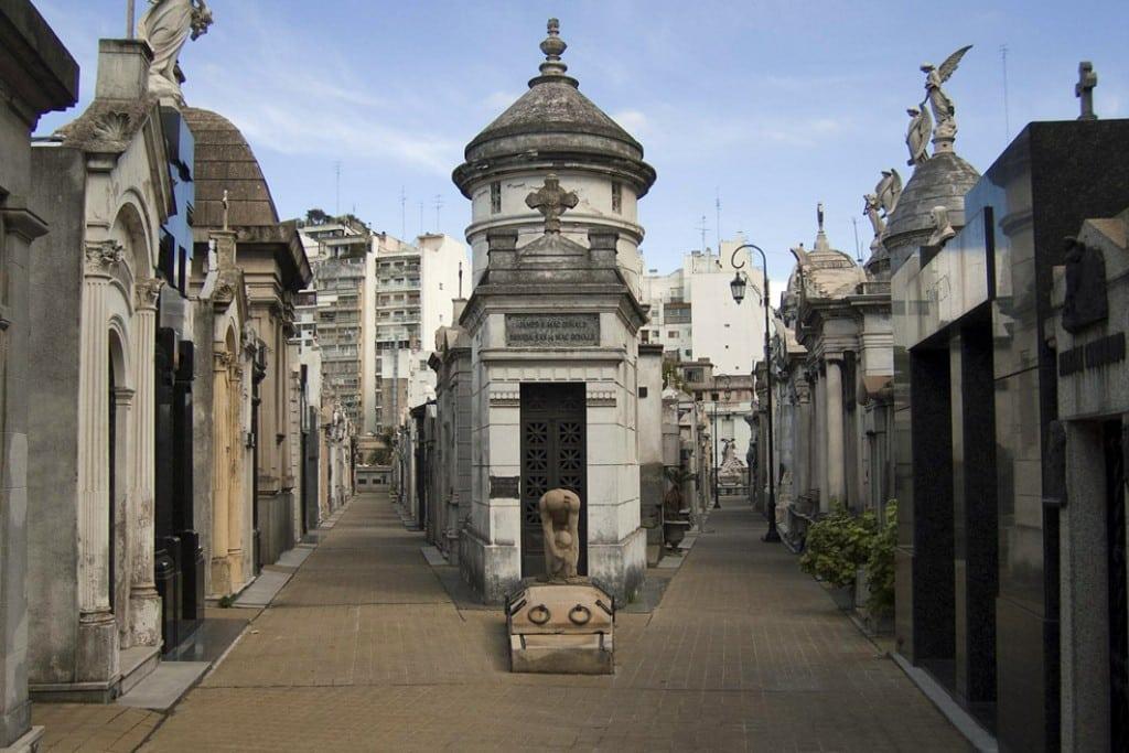 Cimetière de la Recoleta à Buenos Aires, Argentine
