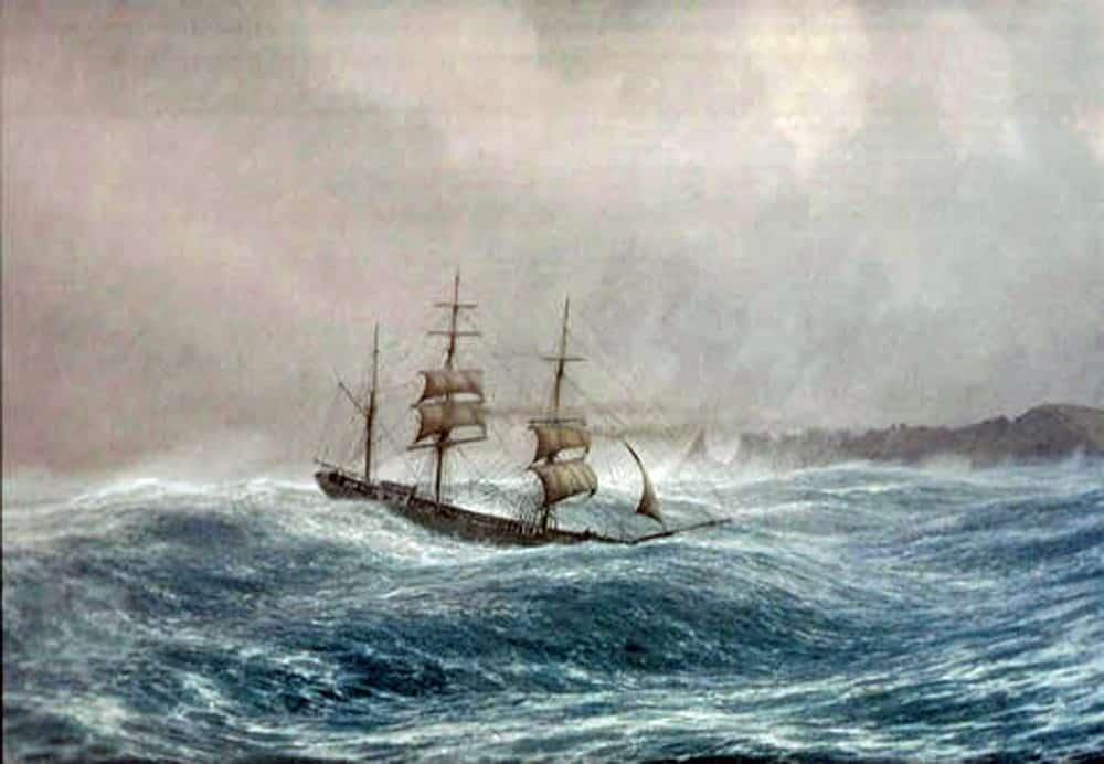 Voilier, Cap Horn