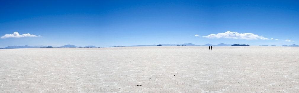 Le magique Salar d'Uyuni, en Bolivie