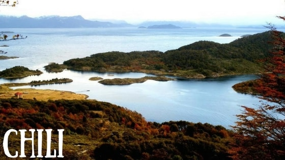 Vue Baie Wulaia Chili