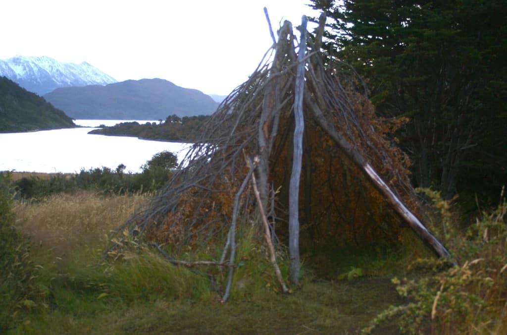 Baie Wulaia, ancien campement Yamana