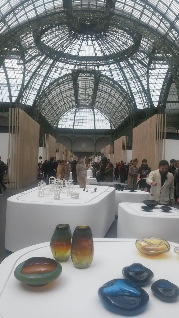 A l'intérieur Grand Palais