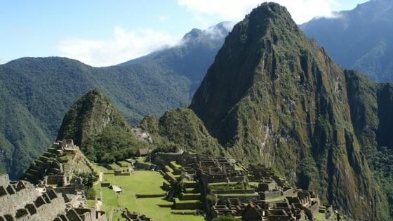 Le site du Machu Picchu au Perou, classé Unesco