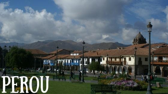 La Ville De Cusco, Pérou